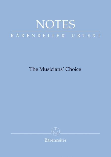 Notes (Barenreiter notebook with a Debussy blue cover)