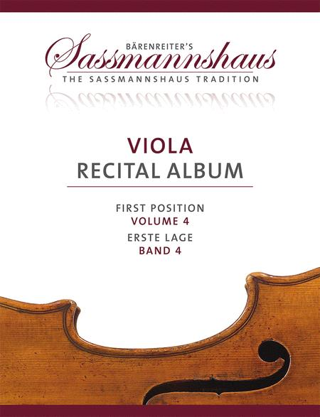 Viola Recital Album, Volume 4