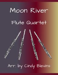 Moon River, for Flute Quartet