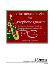 Christmas Carols for Saxophone Quartet Volume I