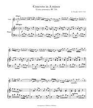Concerto in A Minor, RV 356/Op. 3 No. 6