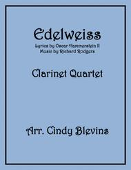 Edelweiss, for Clarinet Quartet