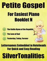 Petite Gospel for Easiest Piano Booklet N