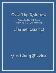 Over The Rainbow (from The Wizard Of Oz), for Clarinet Quartet