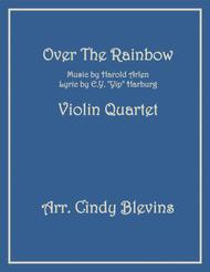 Over The Rainbow (from The Wizard Of Oz), for Violin Quartet