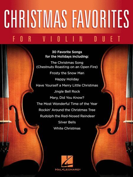Christmas Favorites for Violin Duet