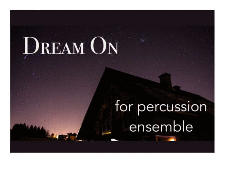 Dream On (Aerosmith) for Percussion Ensemble