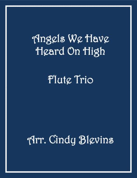 Angels From the Realms of Glory, for Flute Trio