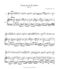 Violin Concerto in G Minor, RV 317/Op. 12 No. 1