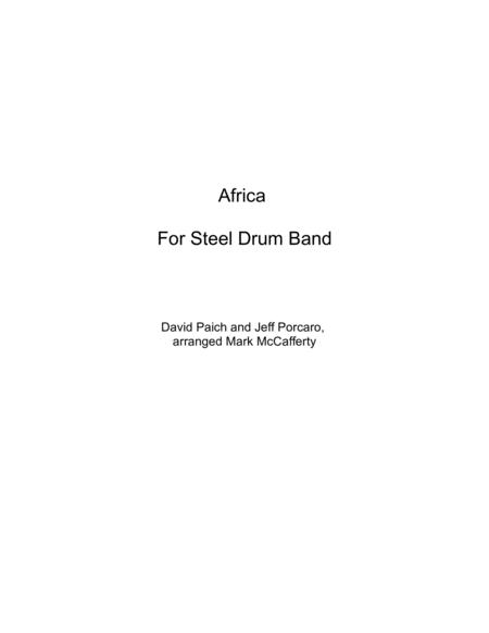Preview Africa For Steel Drum Band By Toto (H0 414537