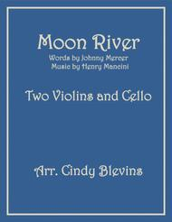 Moon River, for Two Violins and Cello