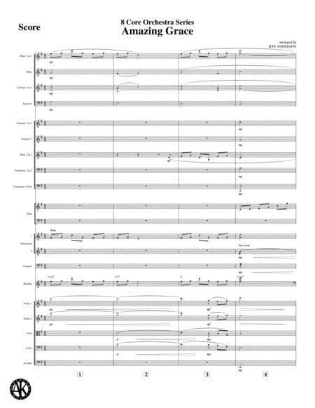 Amazing Grace - 8 Core Orchestra