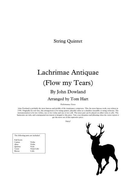 Flow my Tears - String Quintet