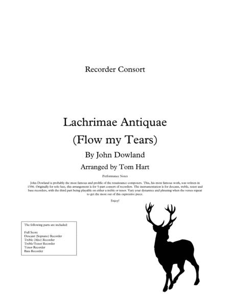 Flow my Tears - Recorder Ensemble