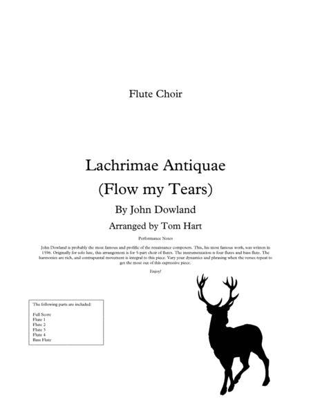 Flow my Tears - Flute Choir