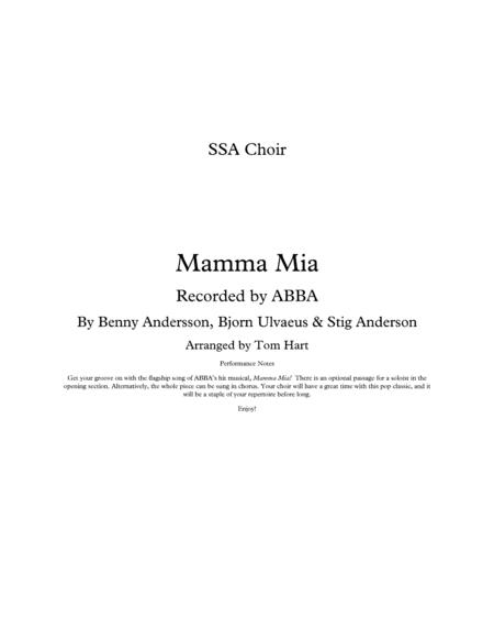 Mamma Mia - SSA Choir