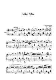 Rachmaninoff - Italian Polka - piano solo