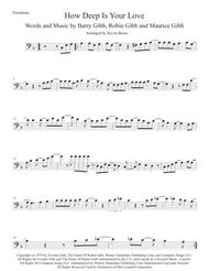 How Deep Is Your Love Trombone By Bee Gees Digital Sheet Music For Individual Part Sheet Music Single Solo Part Download Print H0 415993 343600 Sheet Music Plus