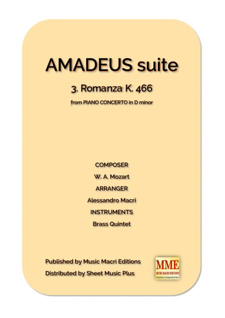 AMADEUS suite - 3. Romanza K. 466 from PIANO CONCERTO in D minor