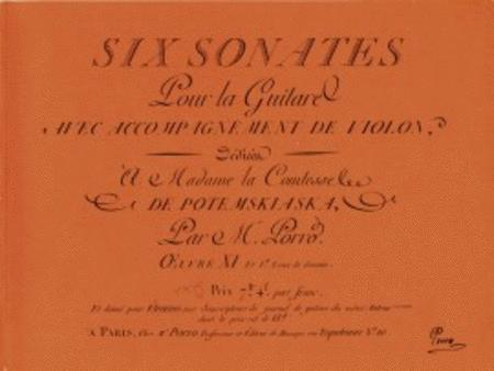 6 Sonatas and Ouverture from Glueck No.10 op. 11