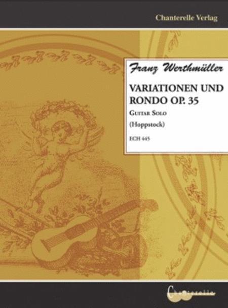 Variationen und Rondo op. 35