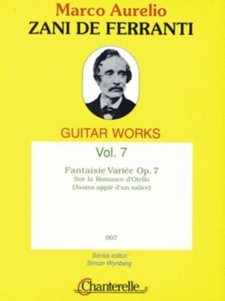 Fantaisie Variee op. 7 Band 7