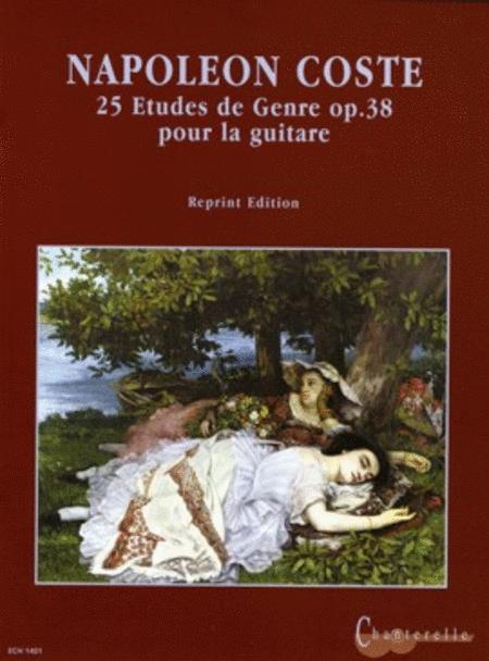 25 Etudes de Genre op. 38
