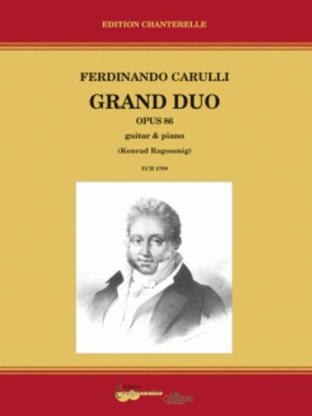 Grand Duo op. 86