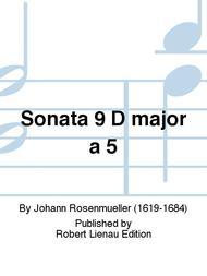 Sonata 9 D major a 5
