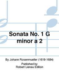 Sonata No. 1 G minor a 2