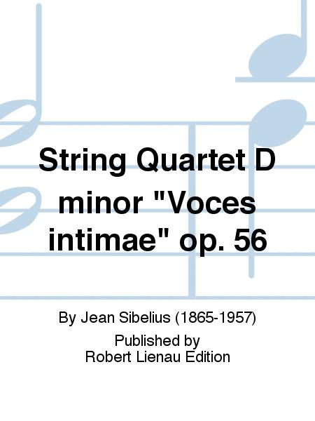 String Quartet D minor