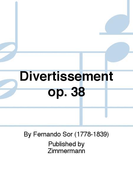 Divertissement op. 38