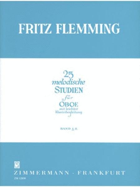 25 Melodic Studies Heft 1