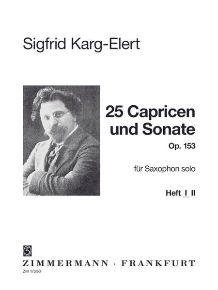 25 Caprices and Sonata op. 153 Heft 1
