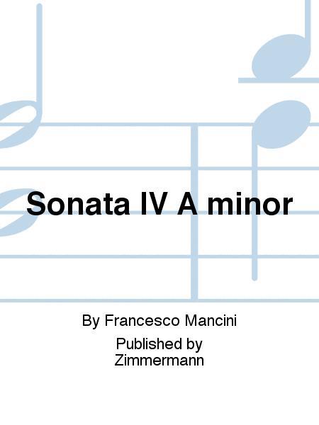 Sonata IV A minor