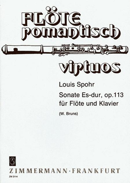 Sonata E flat major op. 113