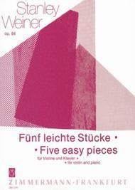 Five Easy Pieces op. 84