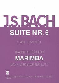 Suite V BWV 1011