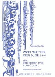 Two Waltzes op. 54/1+4