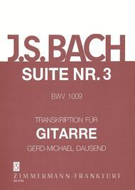Six Suites BWV 1009