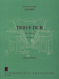 Trio F major