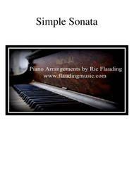 Simple Sonata (Piano)