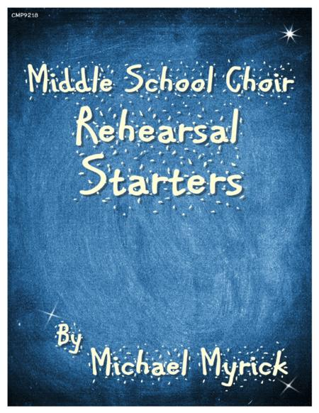 Middle School Rehearsal Starters