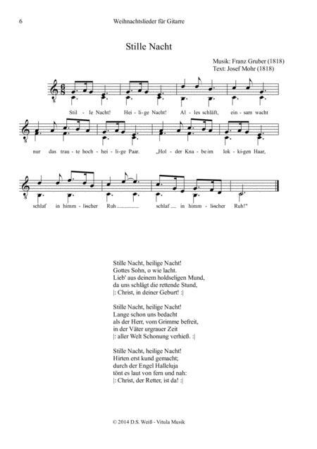 Traditionelle Weihnachtslieder.Preview 15 Traditionelle Weihnachtslieder Für Gitarre Allein 15