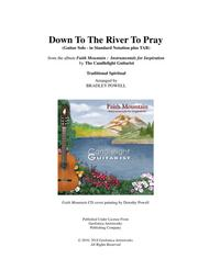 Down To The River To Pray (Guitar fingerstyle, in standard notation with TABS)