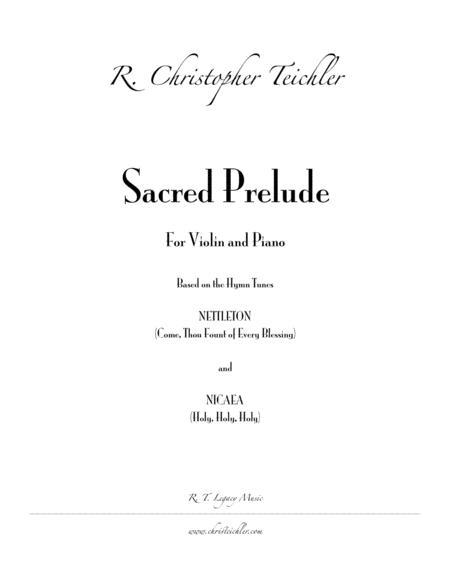 Sacred Prelude - Violin and Piano