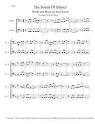 The Sound Of Silence - Cello Duet