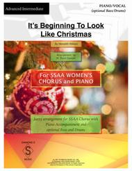 Download It's Beginning To Look Like Christmas - SSAA Chorus