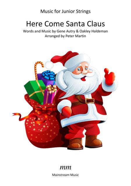 Here Comes Santa Claus - Violin & Piano/Junior Strings