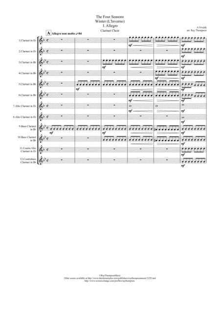 Vivaldi: The Four Seasons (Le quattro stagioni): Concerto No. 4 in F minor, Op. 8, RV 297,